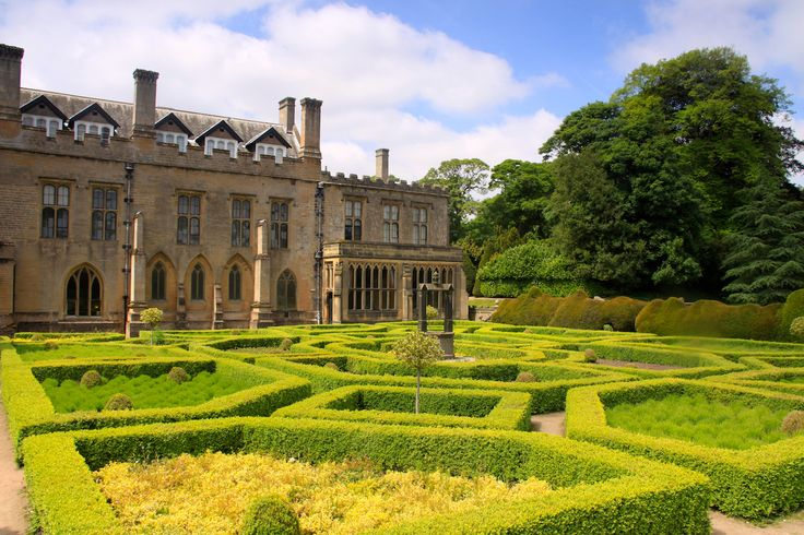 Newstead Abbey, Nottinghamshire. Former home of poet Lord Byron.