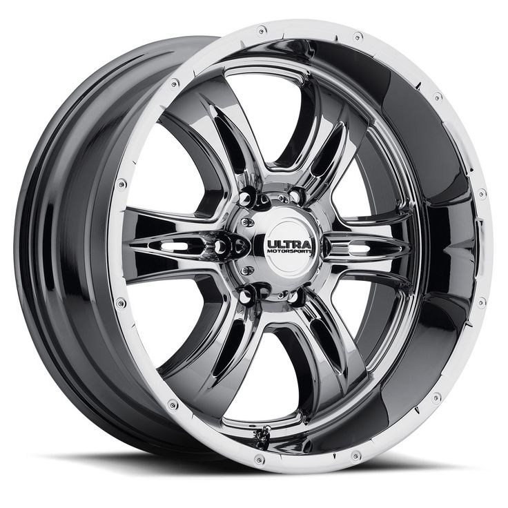 The 249 Predator II Truck Wheel from Ultra Motorsports. Available in Gloss Black with Milling and Ultra Bright PVD. Sizes are 17x9, 18x9, 20x9, 20x12. Big Lip Madness! All 8 lug wheels are 8 spoke. All 5/6 lug wheels are 6 spoke. For Over 30 years, Ultra Wheel Company has been the Leader in producing the most precise, durable and unique wheels in the Industry. Championship Caliber Wheels. Race Tested….Championship Proven.