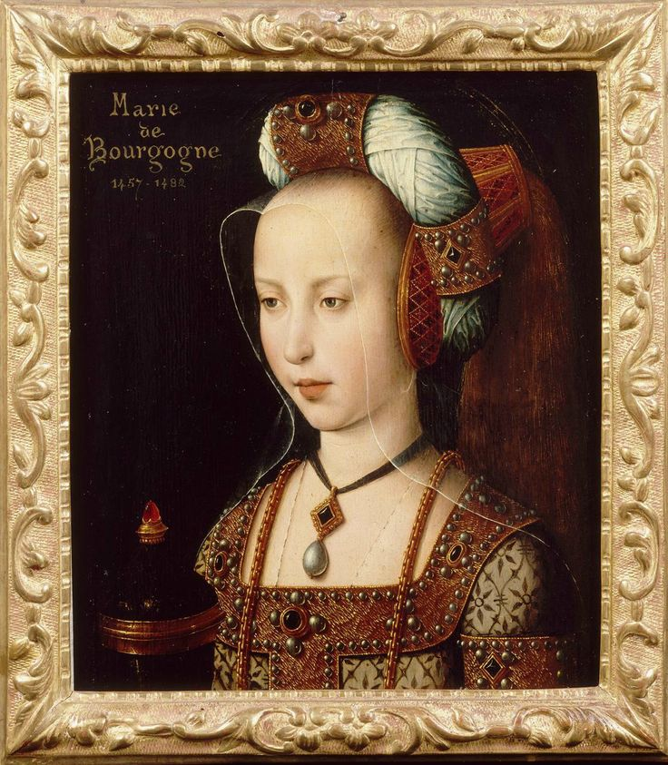 Anonymous Flemish Portrait of Mary of Burgundy 2nd half of the ...