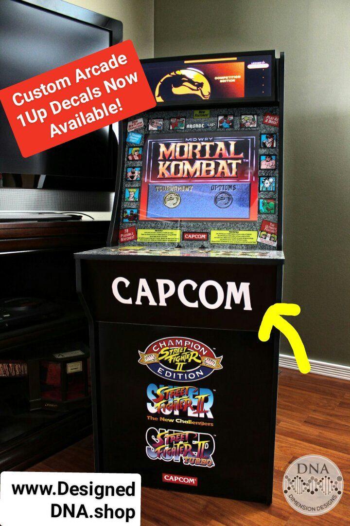 Arcade1Up Decals | Arcade 1UP Mods / Raspberry Pi / Dynamic