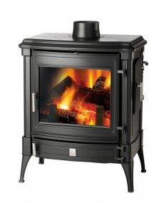 Nestor Martin Stanford 9 - Woodburning Stove - Wood Burning Stove - Freestanding Stove - Multifuel Stove - Cast Iron Stove - Traditional Stove