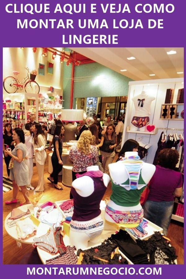 17384e7cb Confira aqui todas as dicas de como montar uma loja de lingerie de sucesso.