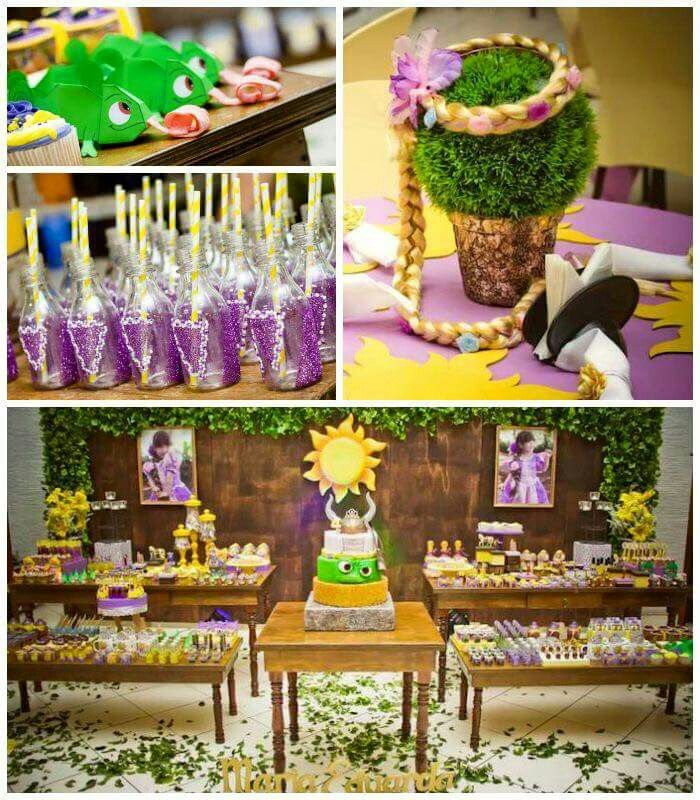 16 Best Rapunzel Party Images On Pinterest