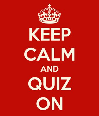 Keep calm and Bible Quiz!