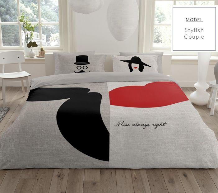 Béžové bavlnené posteľné obliečky pre páry