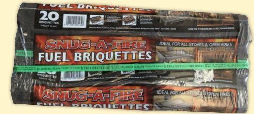 Bundles of 20 Peat Logs (smokeless)