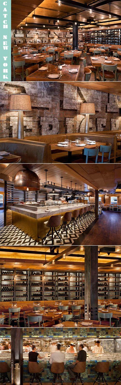 Rustic restaurant furniture - Rustic Restaurant Interior Mackenzie Jones One Of The Coolest Decorated Restaurants Right By