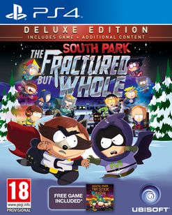 South Park The Fractured But Whole Deluxe Edition - Only at GAME PS4 Cover Art