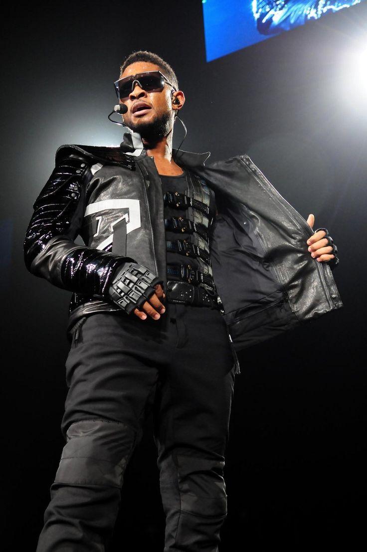 Black usher gloves - Usher Oh My Lord