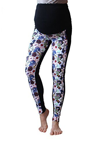 77856e7b352d25 Leggings für Schwangere Spiegel Druck über Bump grau schwarz keine siehe  durch Leggings für - EUR 19.25 - … | Damen Sport Bekleidung, BH, Fitness,  ...
