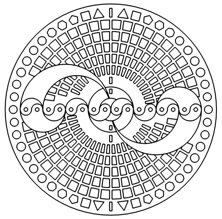 148 best Hobby colouring pages geometric mandalas doodles