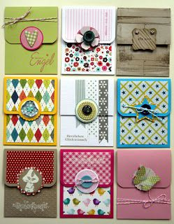 Cute gift card holders