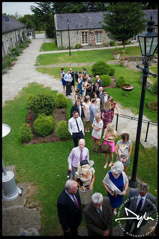 Wedding at Ballymagarvey Village, Co Meath, Ireland  --- Photographs by Dylan McBurney