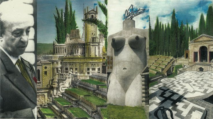 the ITALIAN GOOD PEOPLE! vision about Scarzuola or Buzzinda, a fascinating and surreal place created by Tomaso Buzzi, architect of the most interesting italian buildings of the twentieth century