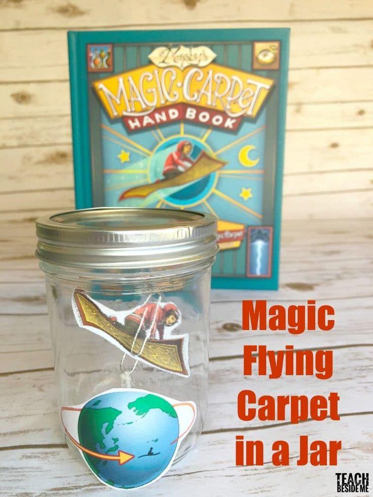 Magic Flying Carpet in a Jar
