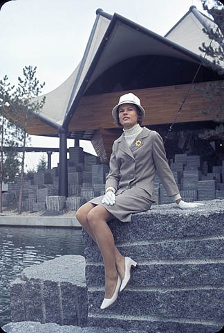 Hostess of the Ontario Pavilion at Expo 67.