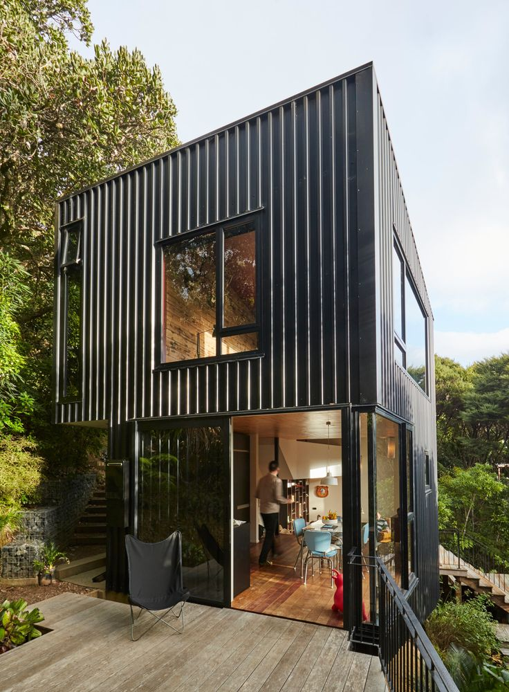353 best metal sheets and cladding elevation images on pinterest architects architecture. Black Bedroom Furniture Sets. Home Design Ideas