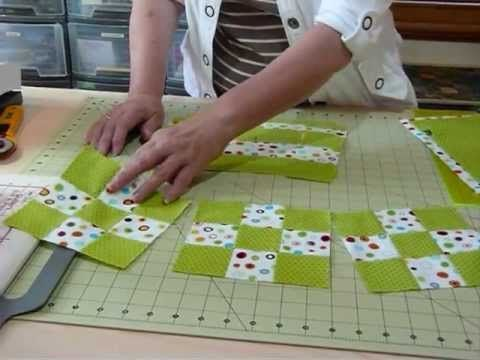 How to make Fast 9 - Patches from Fat Quarters - Quilting Tips & Techniques 034