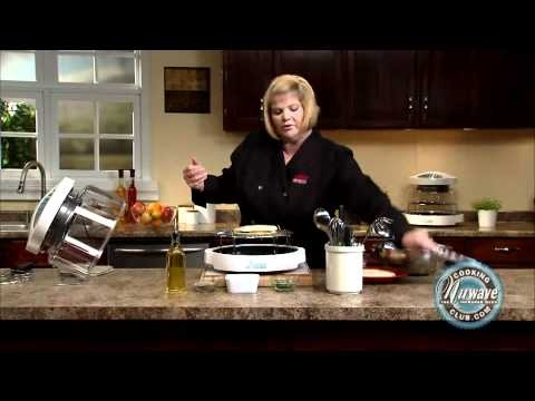 How to prepare Grilled Veggie Quesadillas using the NuWave Oven