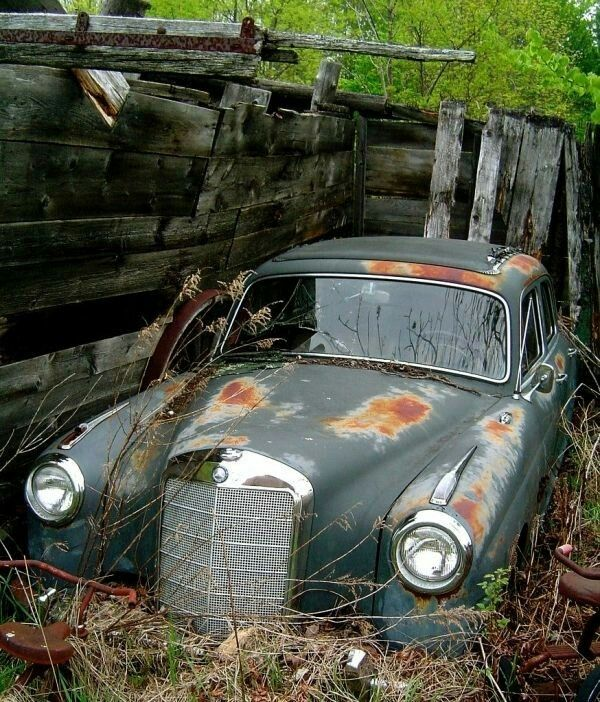 1000+ Ideas About Abandoned Cars On Pinterest