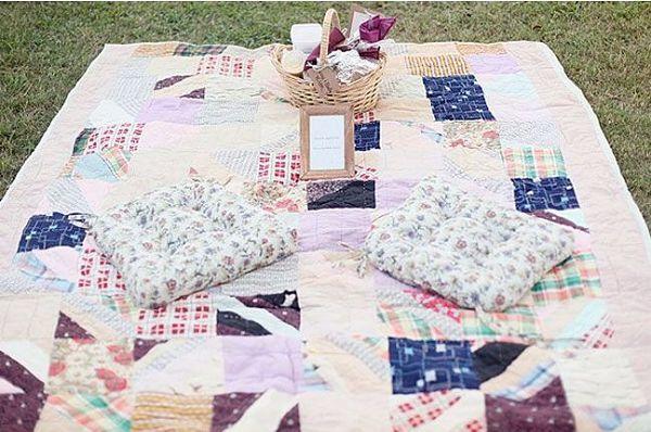 Alternativas al clásico banquete de #boda: ¡celebrar un gran picnic!