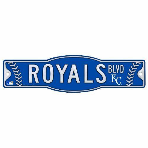 MLB Kansas City Royals 45 By 17 Sign Kansascityroyals Kc Crownus