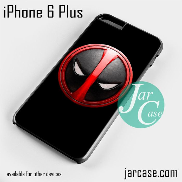 Deadpool Emblem Phone case for iPhone 6 Plus and other iPhone devices