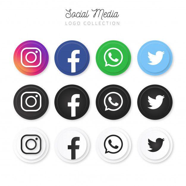 Download Modern Social Media Logo Collection For Free Logo Collection Social Media Logos Social Media Icons