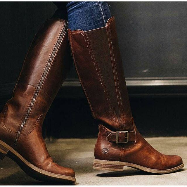 The wait is over, it's time for tall boots.