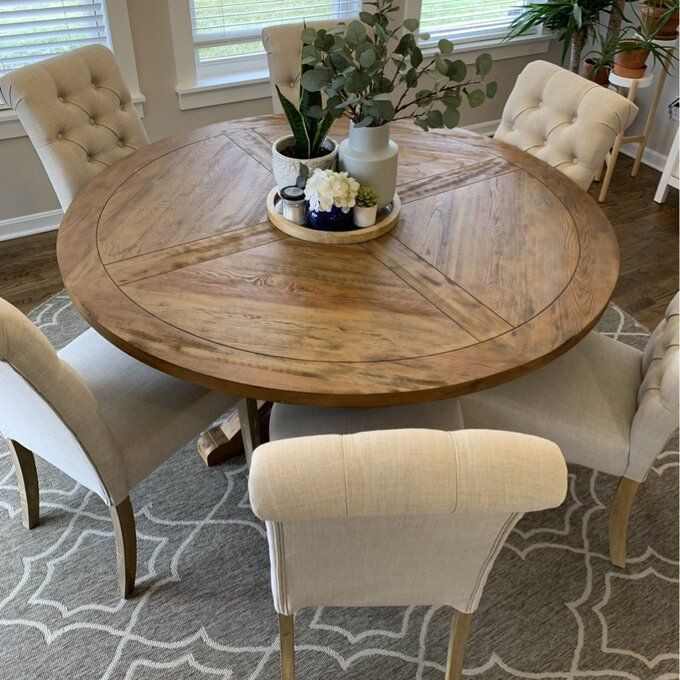 Samson Pedestal Extendable Dining Table Round Dining Room Table Round Wood Dining Table Round Dining Room