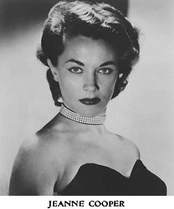 Beautiful Young Jeanne Cooper aka catherine young n restless