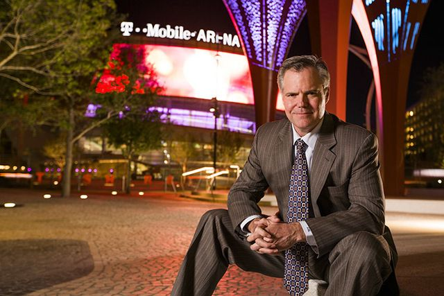 MGM Resorts #CEO sees momentum with #T-Mobile Arena