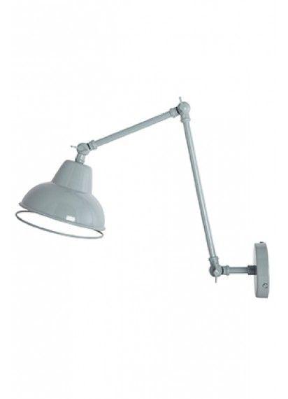 Vintage wandlamp grijs house doctor