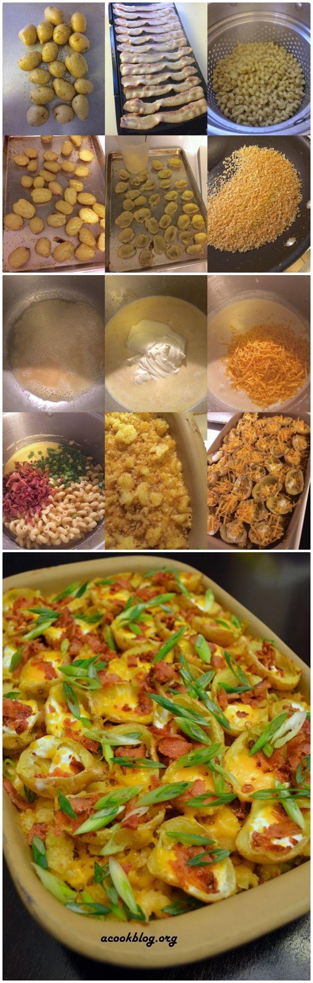 potato skins recipe diethood garlicky and cheesy crispy potato skins ...
