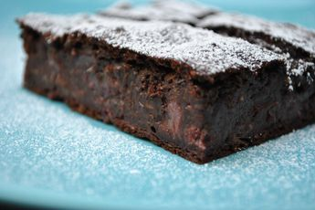 Kichererbsen Brownie