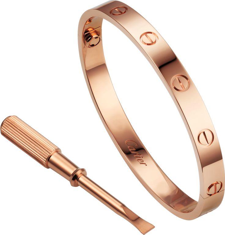 Cartier - rose gold