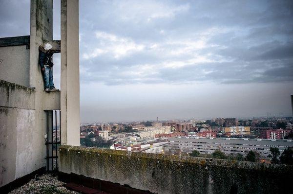 """A. Boccalini """"Corviale Project"""" per Leica camera Italia, Photolux festival 2013"""