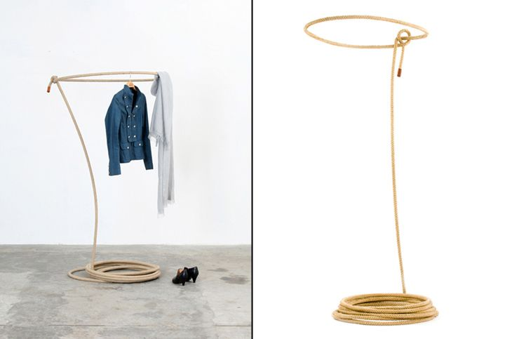 Catching the wild coat stand by Johannes Hemann Kai Linke