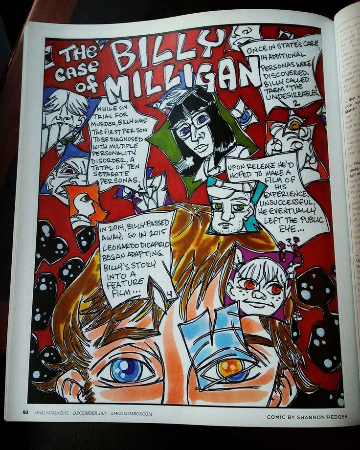 Billy Milligan Comic!!