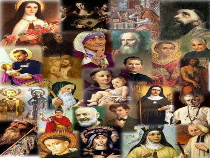 JEZUS en MARIA Groep.: ALLERHEILIGEN – MARIA KONINGIN DER HEILIGEN