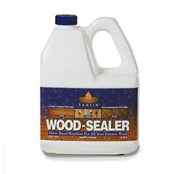 wood sealer for grey weathered look