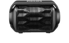 PHILIPS BT2200B/00 Outdoor-Lautsprecher, schwarz, Bluetooth Lautsprecher, Schwarz