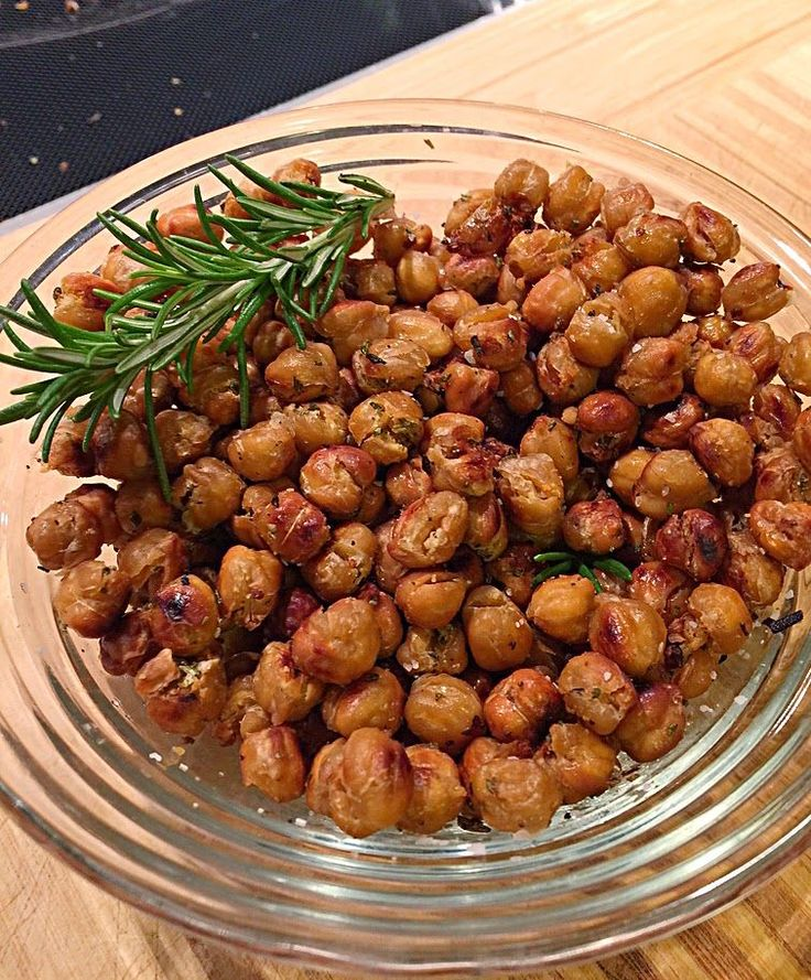 Boots Up Y'all : Crunchy Rosemary ChickPeas - Perfect Snack
