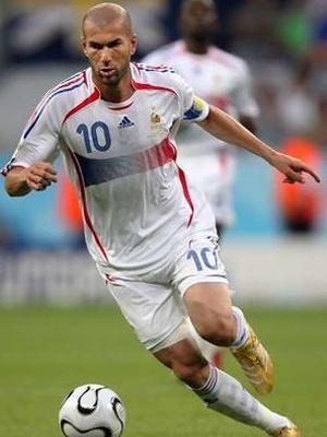 Loved watching Zinedine Zidane in the World Cup!