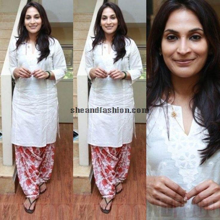 Aishwarya Dhanush in Patiala suit