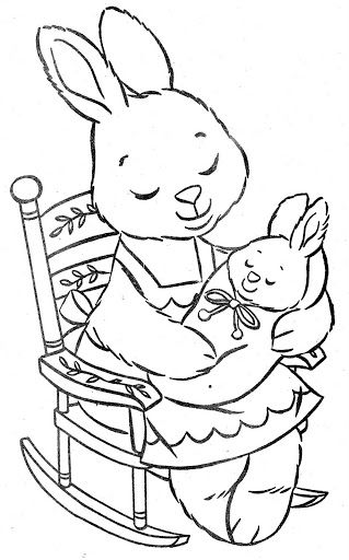 princess bunny coloring pages | 1000+ images about coloring hares and rabbits on Pinterest ...