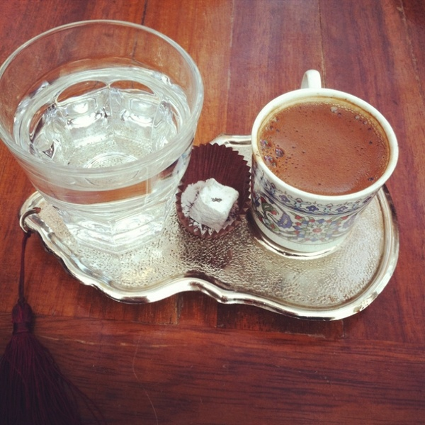Turkish coffee & Turkish delight yummy-things