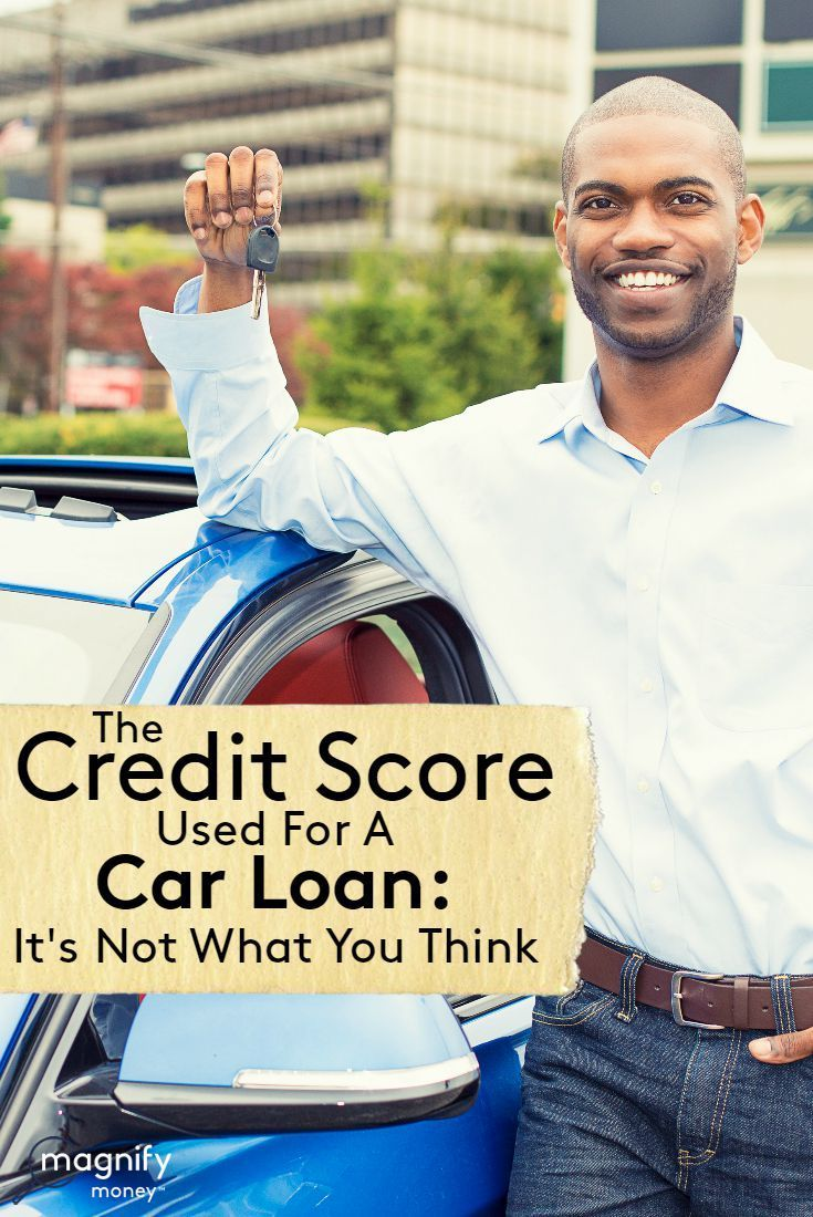Is it time to finance a new vehicle? Then you're probably trying to figure out how your credit score will impact your car loan. The FICO credit score often gets treated with the same reverence as the Coca-Cola formula. We know there is an algorithm used to determine our trustworthiness as borrowers. We know there are five major factors that go into your FICO credit score: http://www.magnifymoney.com/blog/best-of/credit-score-used-car-loan-think