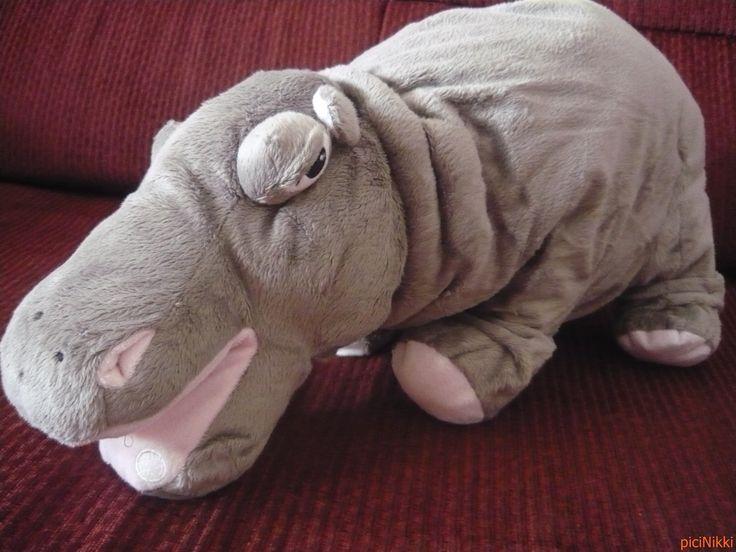 No. 49 | víziló | hippo | plüss | plush | Ikea