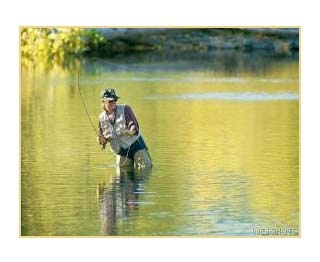 Sun Valley, Idaho | www.visitsunvalley.com | Fly fishing on The Big Wood River
